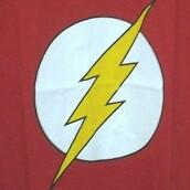 Kaos Logo The Flash