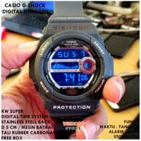 JAM TANGAN PRIA CASUAL SPORTY CASIO DIGITAL GSHOCK GLX 150 GREY