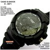 JAM TANGAN PRIA CASUAL SPORTY CASIO GSHOCK CASIO D 8071 BLACK