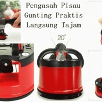 Jual Kleva Sharp Alat Pengasah Asah Pisau Dapur Suction Pad Knife Sharpener Murah