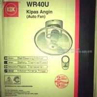 Auto Fan KDK 16 inch WR40U Orbit Fan Asli, Baru, Garansi Resmi