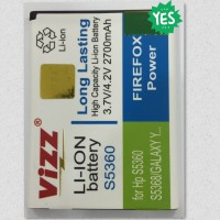 BATERAI SAMSUNG GALAXY Y YOUNG S5360 VIZZ 2700MAH DOUBLE POWER