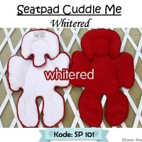 SEATPAD CUDDLE ME RED