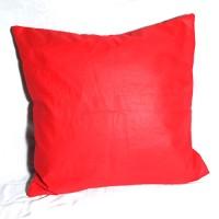 Sarung Bantal Kursi Sofa Polos Merah Ukuran 40x40