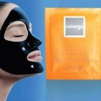 Shisedo Naturgo Mask-Masker Lumpur-Penghilang komedo-pengangkat