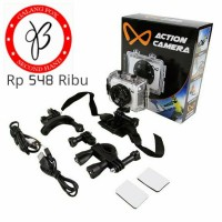 8Ten Action Camera Pro - anti air- 64GB