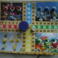Mainan Ludo 2 in 1 (Mainan Jadul Generasi 90an)