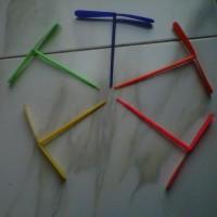 Mainan Kitiran Baling-Baling Bambu (Mainan Jadul Generasi 90an)
