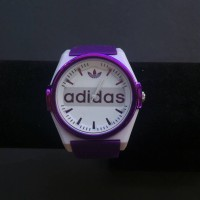 Jam Tangan Adidas Rubber Ungu