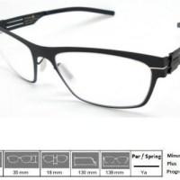 Kacamata Frame Ic! Berlin Andreas Black