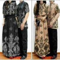 couple batik brown