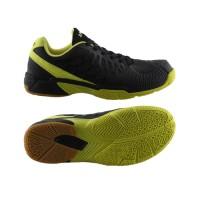 Sepatu Badminton Specs Heracles - Black-Spot Yellow-300172