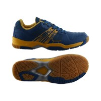 Sepatu Badminton Specs Sparta - Navy-Flame Orange-300163