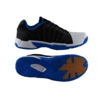Sepatu Badminton Specs Hyperion - Black-White-Blue-300137