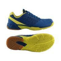 Sepatu Badminton Specs Heracles - Navy-Solar Slime-300170