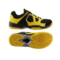 Sepatu Badminton Specs Dionysus - Black-Fresh Yellow-300156