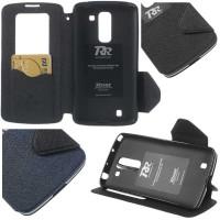 Jual Roar Leather Flip Book Cover Window View Soft Case LG G Pro 2