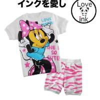 STKD172 - Setelan Anak Minnie Mouse She so Cute