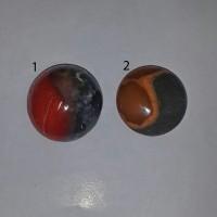 Batu Akik Gambar Mirip Yin Yang