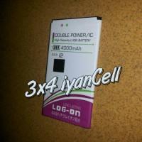 Baterai Smartfren Andromax I2 4000mAh Double Power