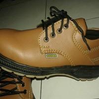 Sepatu safety Murah (Talian Mocca)