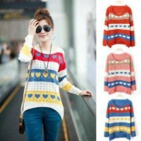 F1053 - Sweater Fashion Wanita (TEBAL)
