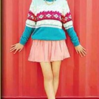 F1052 - Sweater Fashion Wanita (TEBAL)