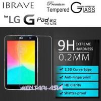 Tempered Glass SP for LG G Pad 8.0 V480 : iBrave 0.2mm 2.5D Premium TG