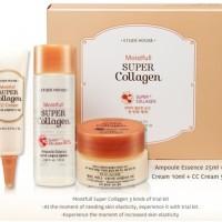 Etude Moistfull Super Collagen Trial Kit  3Kind