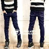 Celana Jeans DC Skinny Navy Blue