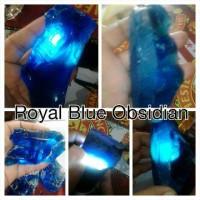 Royal Blue Obsidian bahannya king safir