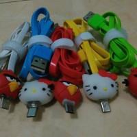 Kabel USB Karakter Kartun