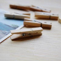 Wooden Clip Plain / Jepitan Kayu / Klip Kertas