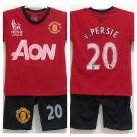Baju / Setelan Anak Bola MU 4 tahun (SMU-67)