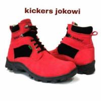 Sepatu Kickers Tracking Bca & Camel