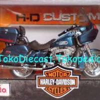 MOTOR 1980 FLT TOUR GLIDE HARLEY DAVIDSON 1:18 MAI
