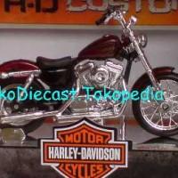MOTOR 2012 XL 1200V SEVENTY TW0 MAROON HARLEY DAVI