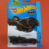 Hotwheels BATMAN Batmobile (list merah)