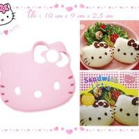 Cetakan Bento Roti Tawar Kue Cake Sandwich Mold Karakter Hello Kitty