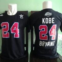 tshirt allstar #24 kobe bryant