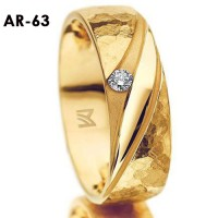 Cincin Kaiwin, Cincin Tunangan, Cincin Pernikahan AR 63