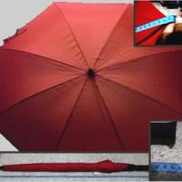 payung jumbo mayer merah