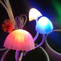 Lampu Tidur Unik LED Mushroom / Lampu Jamur / Lampu Hias Jamur LED.
