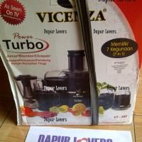 Vicenza Power Turbo Blender 7in1 (Juicer / Blender / Chopper)