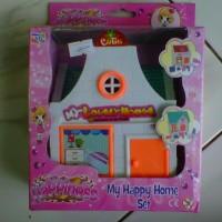 Mainan Rumah Barbie My Happy Home Set