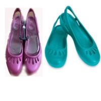 Crocs Sandal Sepatu Malindi w8 Warna Vodka & Ungu