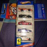Hot wheels Ferrari 5-Pack