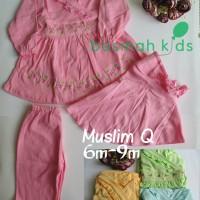 set gamis bayi MUSLIM Q