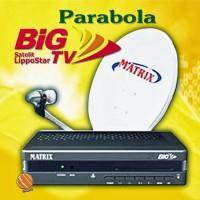 MATRIX BIG TV FULL SET + DISH KOMPLIT TINGGAL PASANG