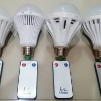 Lampu Bohlam LED Remote Kontrol 10 Watt